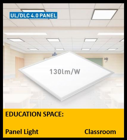 2 X 2 Panel Light 40 Watt UL/DLC